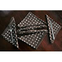 Raghuraj lifestyleCotton Table Napkin Multipurpose Kitchen Napkin, Dining Table Napkin Printed Napkin Set of 6 Printed