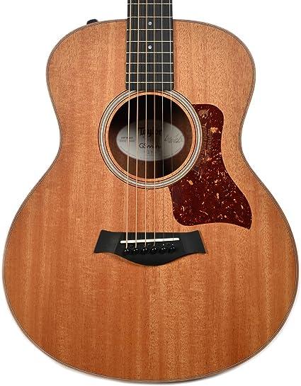 Taylor GS mini-e guitarra electroacústica madera de caoba: Amazon ...