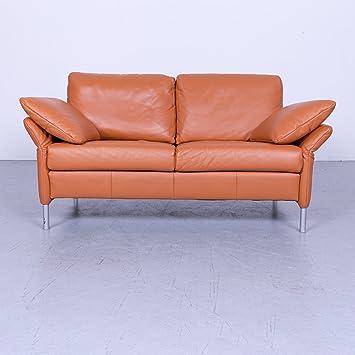 Amazonde Rolf Benz Basix 3300 Designer Sofa Orange Zweisitzer