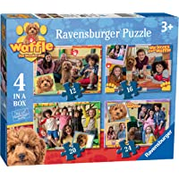 Ravensburger 3035 Waffle The Wonder Dog 4 in a Box (12, 16, 20, 24pc) Jigsaw Puzzles,