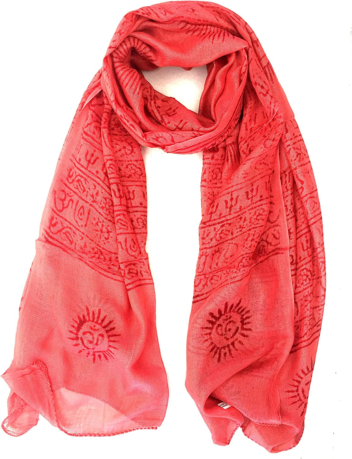 Large Om Scarf Wrap Hand...