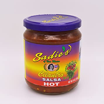 Sadies Cilantro Salsa (Hot)