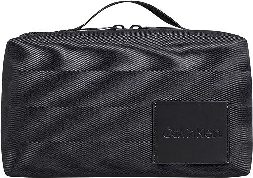 Calvin Klein - Split Washbag, Carteras Hombre, Negro (Black ...