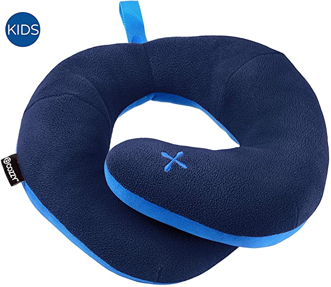 BCOZZY Kids Chin Supporting Travel Pillow - The Soft Yet Supportive