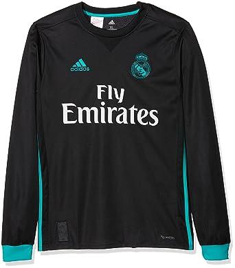 0caf9097130 adidas A JSY Y LS Camiseta 2ª Equipación Real Madrid 2017-2018-Champions  League, Niños: Amazon.es: Ropa y accesorios