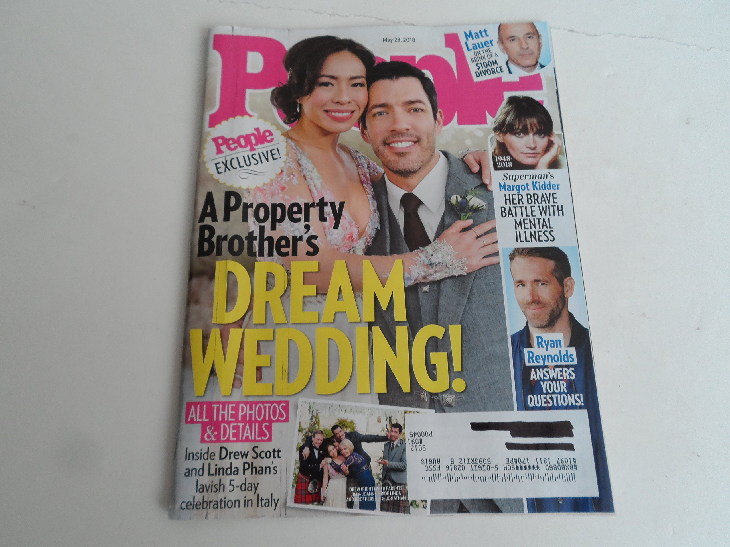 Property Brothers Wedding.People May 28 2018 Drew Scott A Property Brother S Dream Wedding