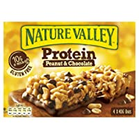 Nature Valley Protein Peanut Butter & Protein Cereal Bars 8x4x40g (32 Bars)