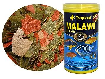 Alimento para ciclidos del lago Malawi 300ml: Amazon.es: Productos para mascotas