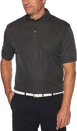 Jack Nicklaus Men's Mini Shadow Jacquard Golf Polo Shirt