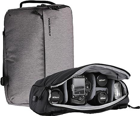 foolsGold Macuto/Mochila hibrido Profesional para cámara SLR con ...