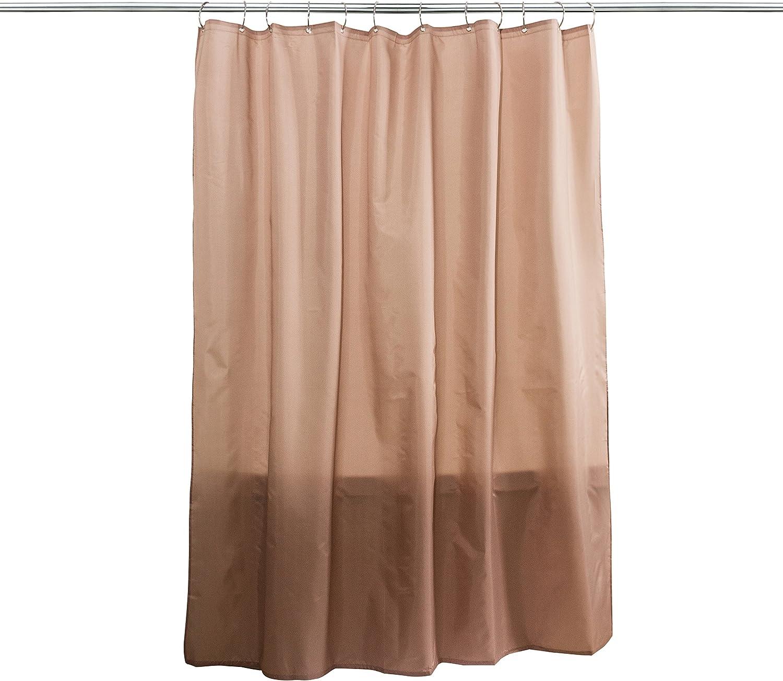 Splash Home Fabric Shower Curtain Liner, Linen