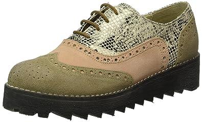 Marc Shoes Katy, Zapatos De Cordones Derby para Mujer, Rojo, EU 40