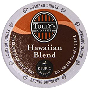 Tully's Coffee Hawaiian Blend 48 K-Cups