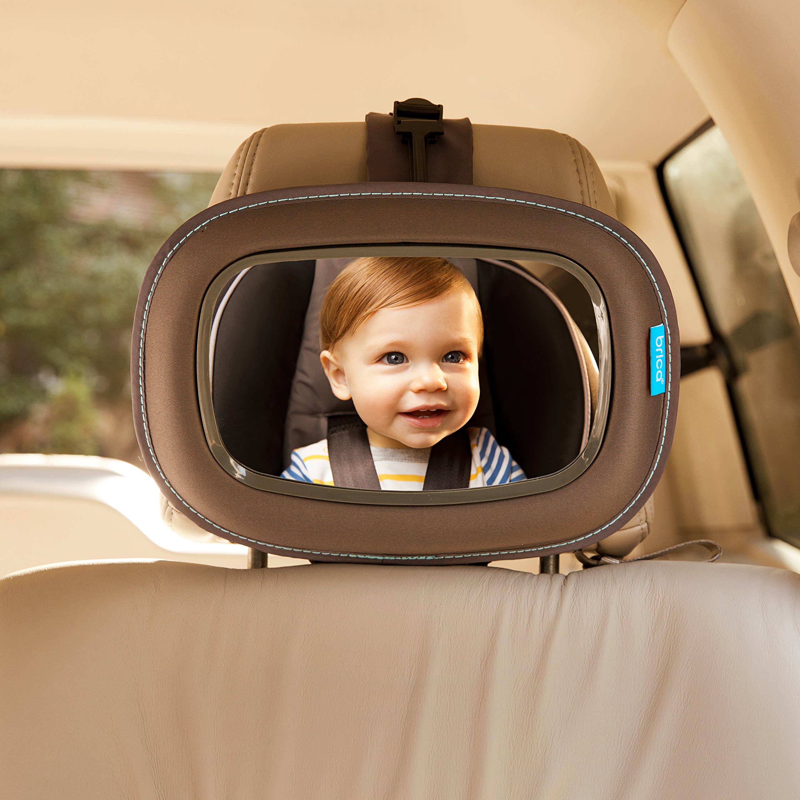 Brica Vivid Reflection Baby In-Sight Car Mirror, Crash Tested and Shatter Resistant by Brica (Image #4)