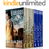 6 Book Boxed set: 6 Brides In Love