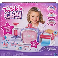 Deals on Twinkle Clay Princess Studio Makes Sparkly Air-Dry Clay Creations