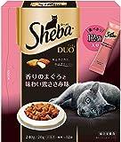 シーバ (Sheba) デュオ 香りのまぐろと味わい鶏ささみ味 240g(20g×12袋入) 猫用