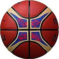 Molten Copa Mundial de la Fiba–Balón de Baloncesto, Color Naranja/café, tamaño Oficial 7