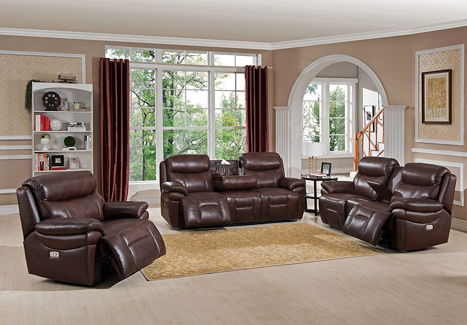 love with seat room loveseat open furniture power product electric capitol console flexsteel reclining living recline