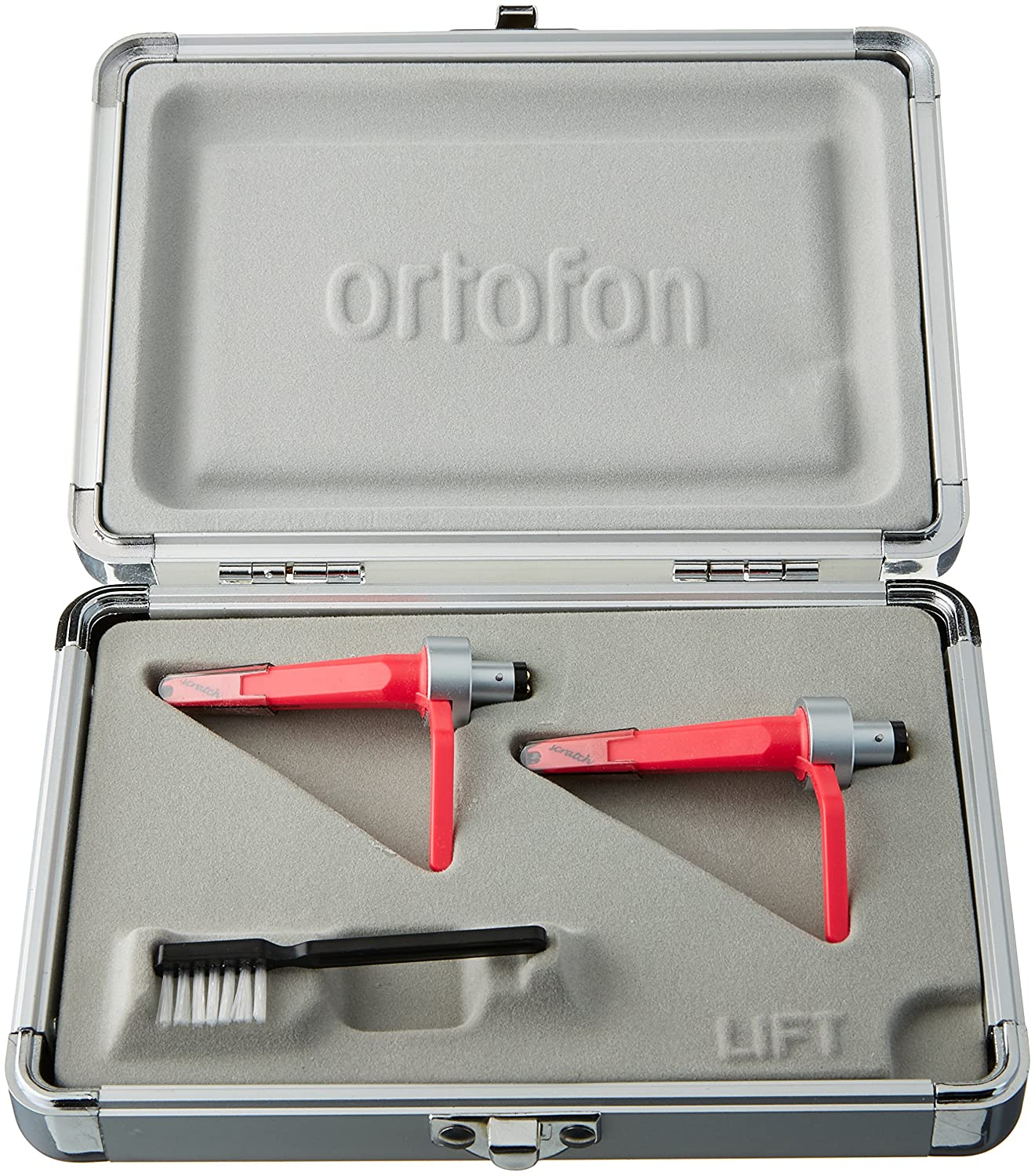 Ortofon Concorde Scratch Twin Pack - 2 x DJ Cartridges each fitted with stylus (japan import)