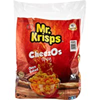 Mr Krisps Cheezos Spicy Flaming Hot, 21 x 15 gm