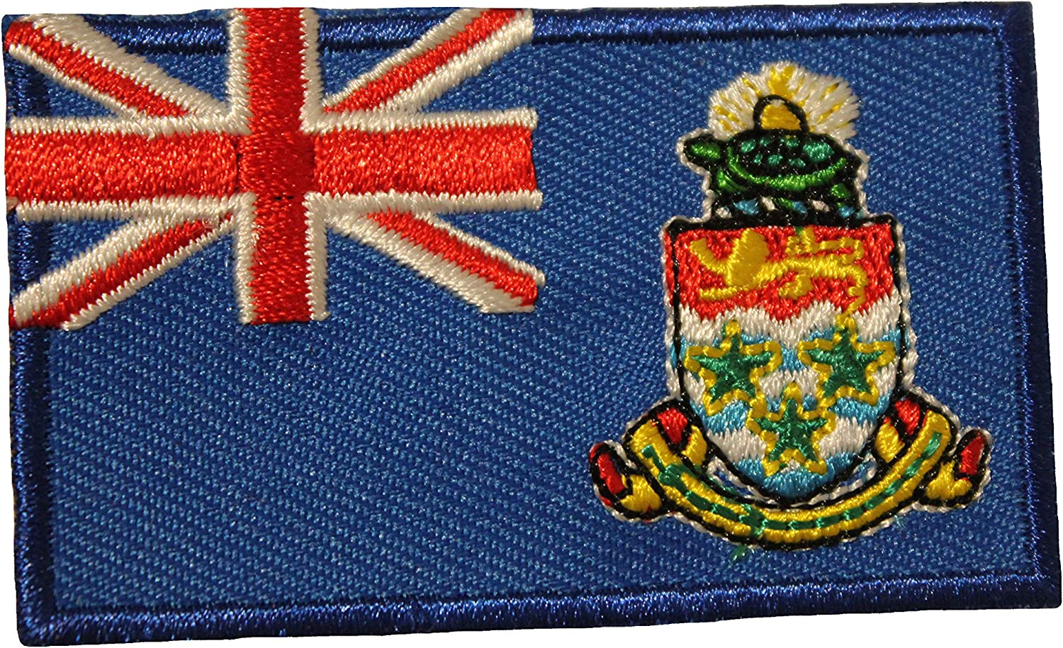 Cayman Islands Country Flag Small Iron ON Patch Crest Badge New