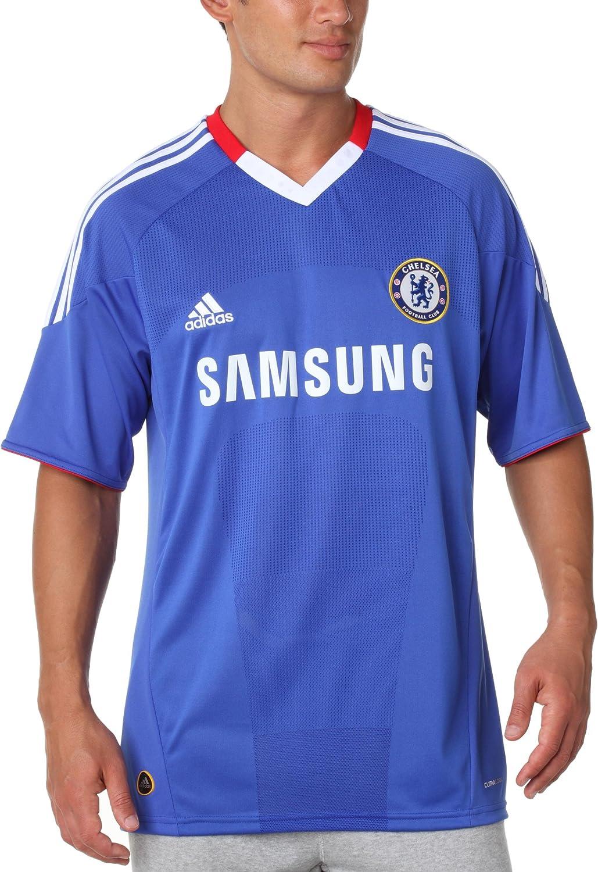 adidas CFC H JSY – Camiseta Fútbol Chelsea FC hogar Hombre Azul, fútbol, Hombre, Color Azul, tamaño Extra-Large: Amazon.es: Ropa y accesorios