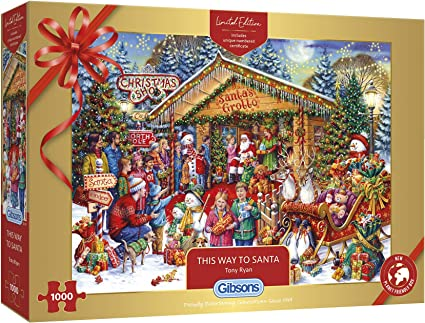 Holidays Deck the Halls 150 Piece Micro Jigsaw Puzzle