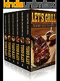 Let's Grill! Best BBQ Recipes Box Set: Best BBQ Recipes from Texas (vol.1), Carolinas (Vol. 2), Missouri (Vol. 3), Tennessee (Vol. 4), Alabama (Vol. 5), Hawaii (Vol. 6) (English Edition)
