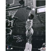 """$239 » Julius Erving Philadelphia 76ers Autographed 8"""" x 10"""" Dunk vs. Lakers Photograph - Autographed NBA Photos"""