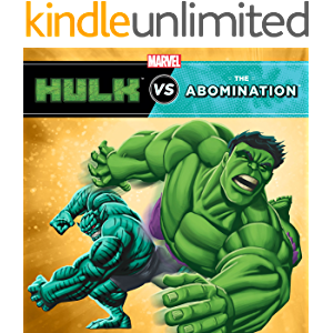 Hulk vs. Abomination: Two-Books-In-One With Over 50 Stickers (Marvel Super Hero vs. Book, A)