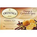 Twinings Orange & Cinnamon Spice Tea - 20 ct (1.41 oz)