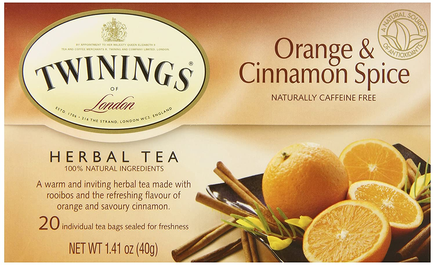 Twinings Orange & Cinnamon Spice Tea
