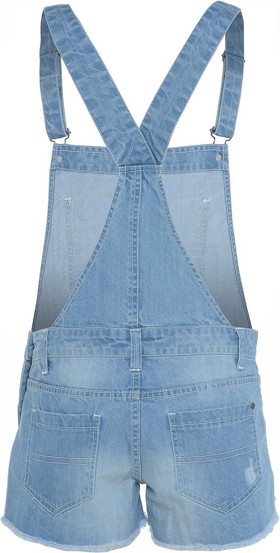 Infant Kids Boys Girls Denim Jumpsuit Playsuit Dungaree Overalls Summer Outfits
