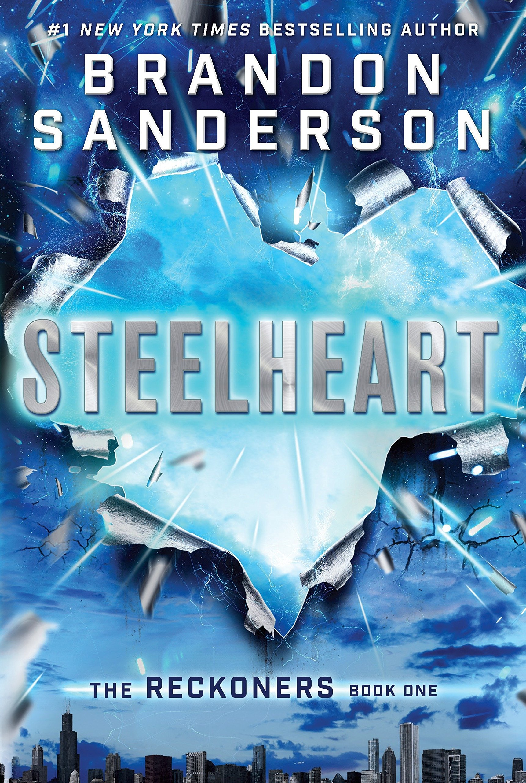 Image result for steelheart by brandon sanderson
