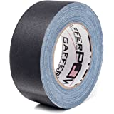 Gaffer Power Premium Grade Gaffer Tape, Made in the USA, Heavy Duty gaff Tape, Non-Reflective, Multipurpose. 2 Inches x…