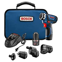 Amazon.com deals on Bosch GSR12V-140FCB22 Cordless Electric Screwdriver Kit