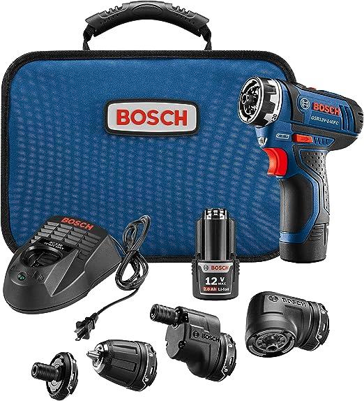 Amazon.com: Sistema de taladro/atornillador Bosch GSR12 ...