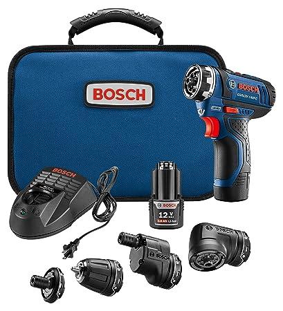 Zeer Bosch Power Tools Combo Kit - GSR12V-140FCB22 - 12V Flexiclick 5 KF85