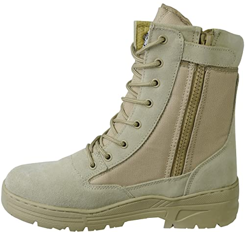 7ffedcdc929 Savage Island Desert Tactical Army Combat Boots Side Zip