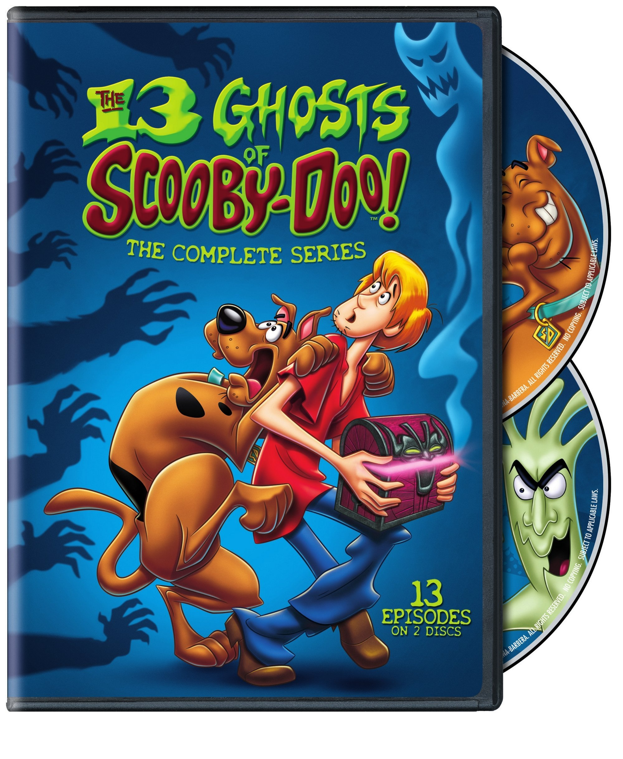 DVD : The 13 Ghosts of Scooby-Doo: The Complete Series (Eco Amaray Case, Dolby, 2 Disc)
