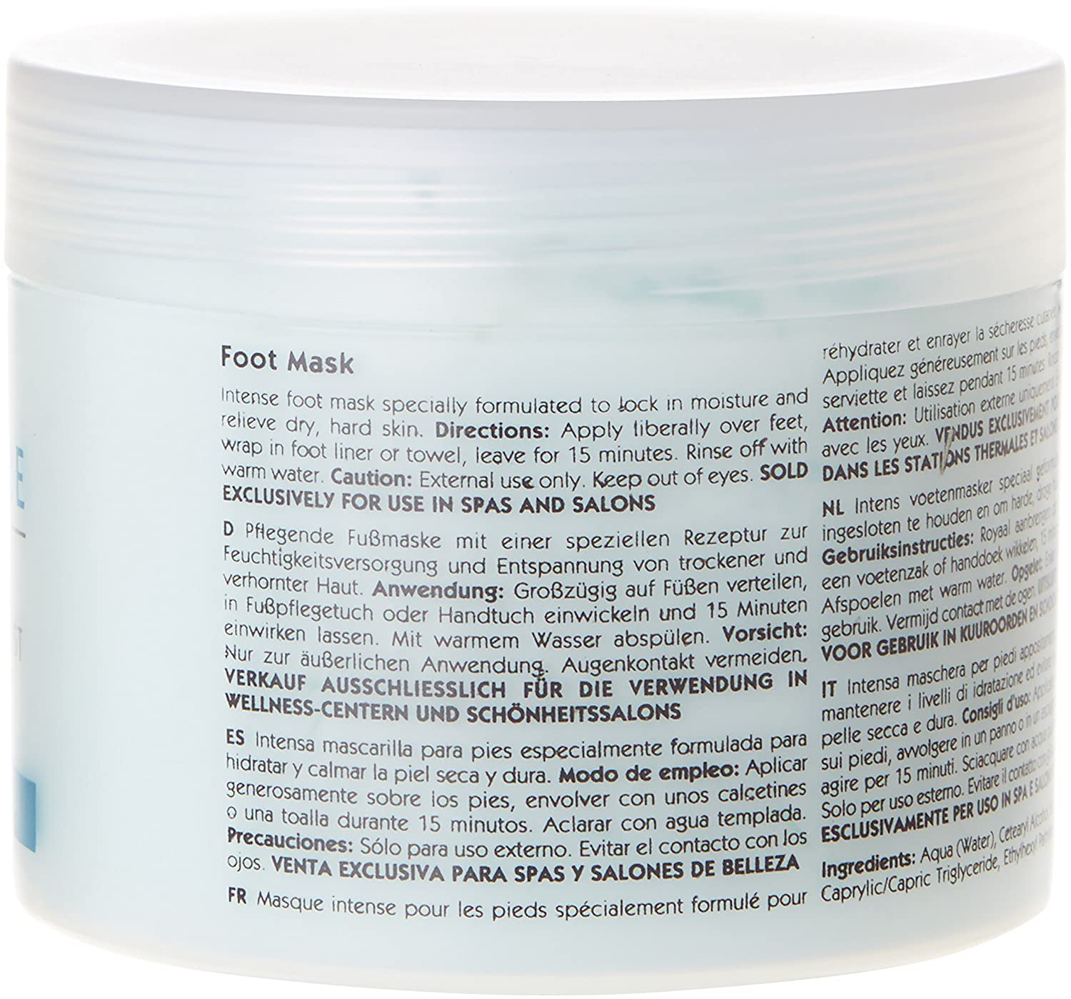 Amazon.com: Kaeso Peppermint and Blueberry Twist Foot Mask 450 ml: Computers & Accessories