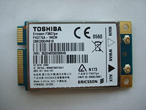 F3607GW TOSHIBA DRIVER FOR WINDOWS 7