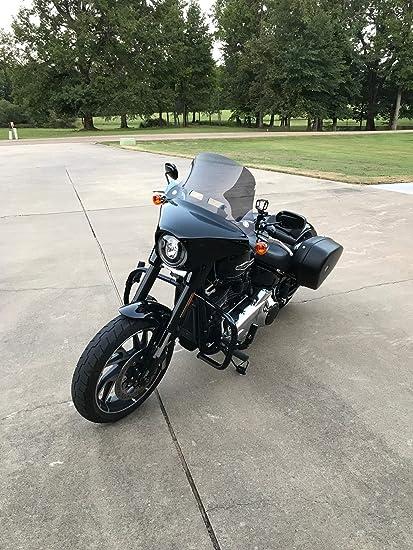 Harley Davidson Windshields >> Amazon Com Harley Davidson Sport Glide Windshield Flsb 2018