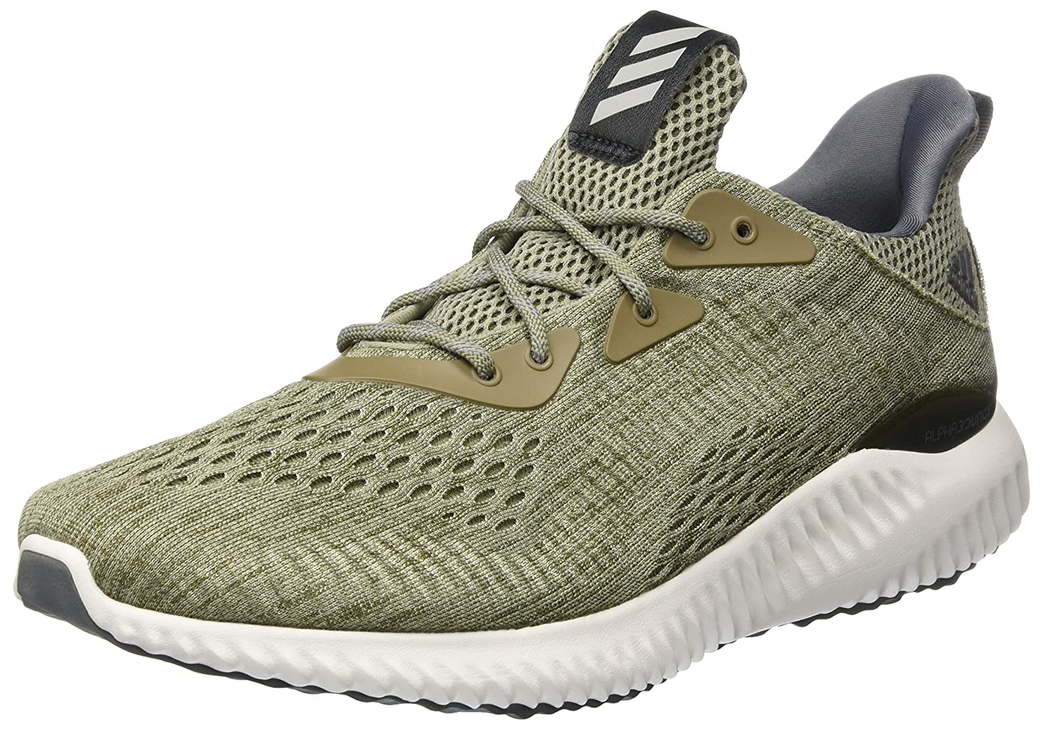 a75eb2266 Adidas Men s Alphabounce Em M Olive Running Shoes-6 UK India (39.33 EU)  (BW1203)  Buy Online at Low Prices in India - Amazon.in
