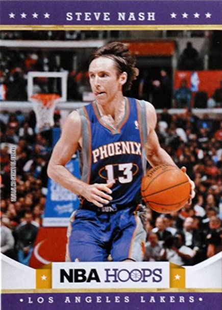 5ab8f7ef0a8 2012-13 Panini Hoops  208 Steve Nash Trading Card in a Protective Case -