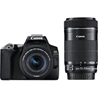 Canon デジタル一眼レフカメラ EOS Kiss X10ブラック・ダブルズームキット EOSKISSX10BK-WKIT