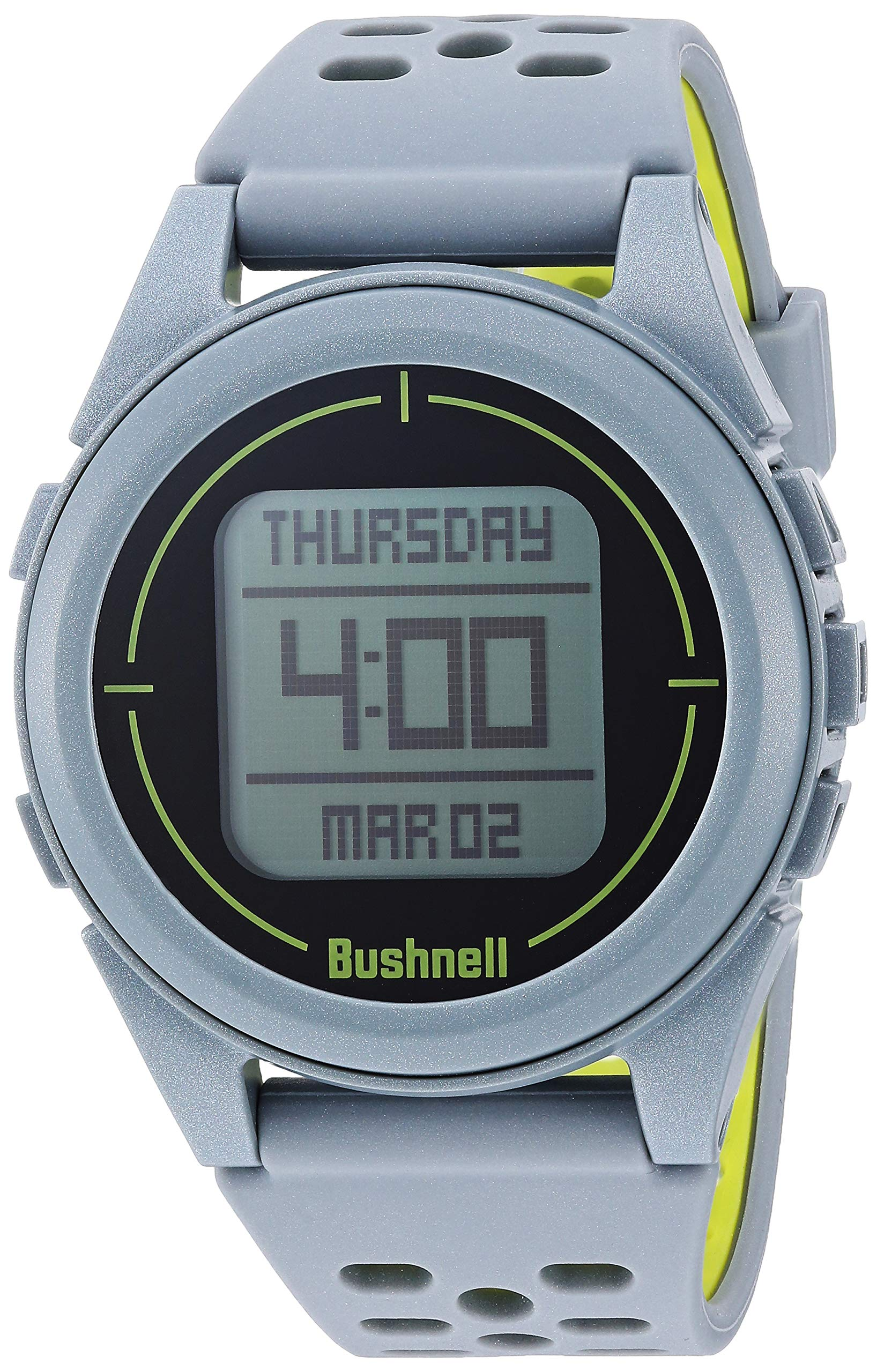 Bushnell Neo Ion 2 Golf GPS Watch, Silver/Green by Bushnell