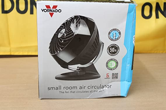 Amazon.com: Vornado 160 Small Room Air Circulator Fan Black: Home & Kitchen