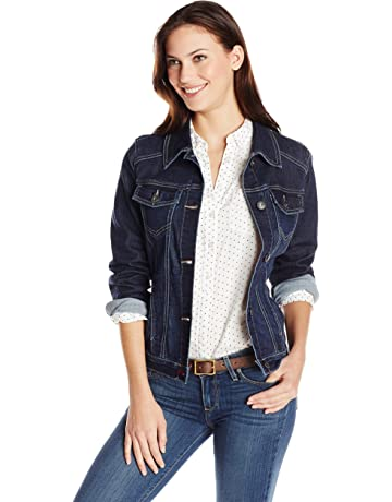 e3a9f6357624 Wrangler Authentics Women's Stretch Denim Jacket